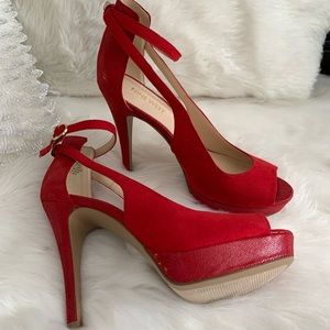 Nine West sexy red shoes